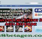 Panduan dan Cara Deposit 368bet Agen Judi Online